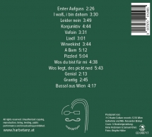 Harbetanz Cover - Rückansicht
